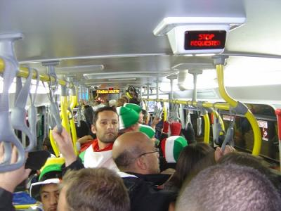 Stadium Shuttle Bus