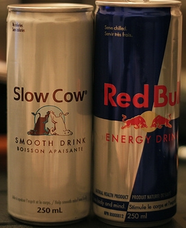 Slow Cow vs. Red Bull