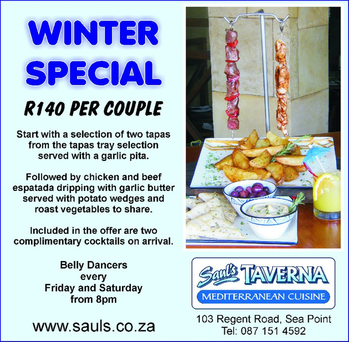 Sauls Winter Specials