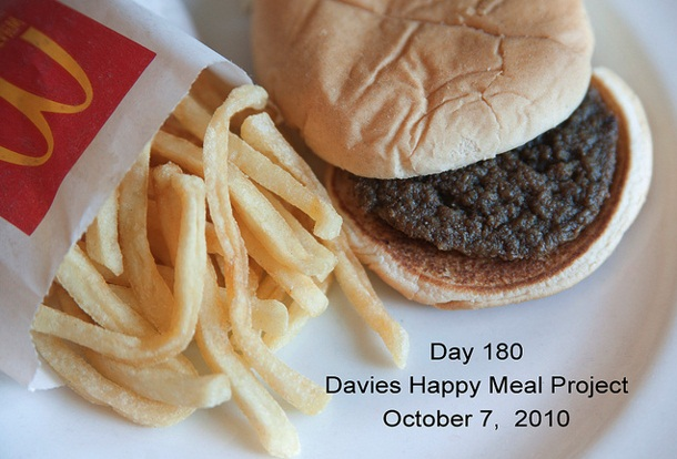 McDonals Photography Project 180 Days Happy Meal